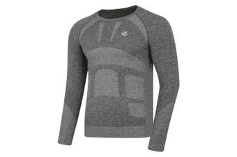 Dare 2B Mens In The Zone Base Layer Set (Charcoal Grey Marl) - UTRG4700