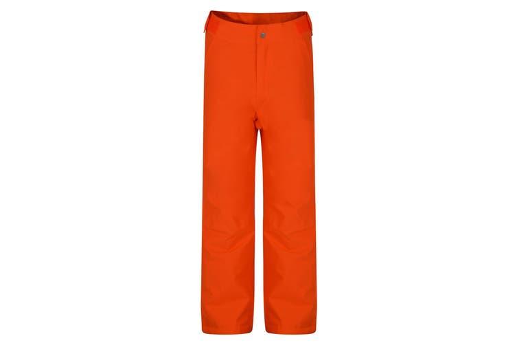 Dare 2B Childrens/Kids Delve Ski Pants (Vibrant Orange) (7-8 Years)
