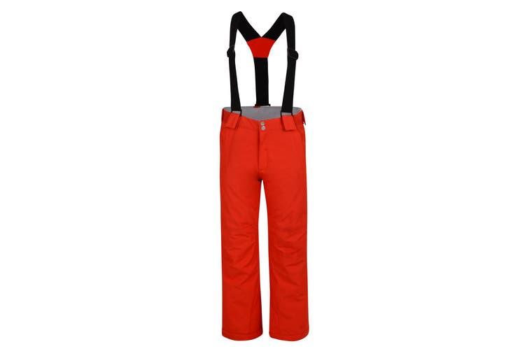 Dare 2B Childrens/Kids Motive Ski Pants (Fiery Red) (3-4 Years)