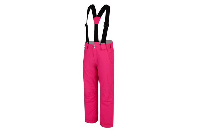 Dare 2B Childrens/Kids Motive Ski Pants (Cyber Pink) (11-12 Years)