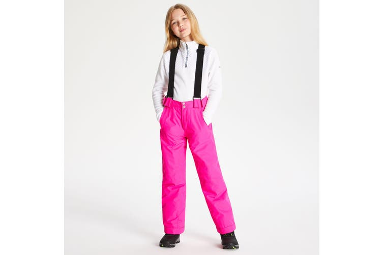 Dare 2B Childrens/Kids Motive Ski Pants (Cyber Pink) (7-8 Years)