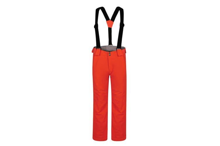 Dare 2B Childrens/Kids Motive Ski Pants (Fiery Coral) (7-8 Years)