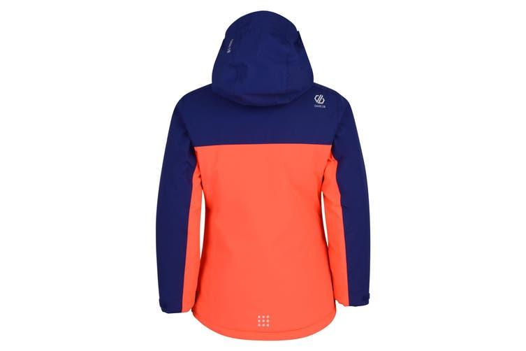 Dare 2b Boys Legit Hooded Ski Jacket (Fiery Coral) (9-10 Years)