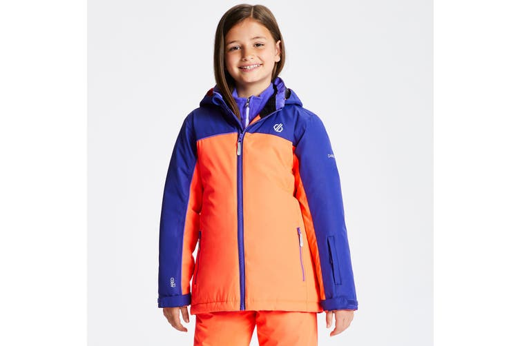 Dare 2b Boys Legit Hooded Ski Jacket (Fiery Coral) (11-12 Years)