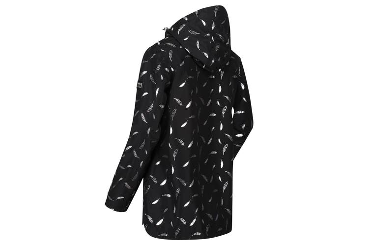Regatta Womens/Ladies Bertille Waterproof Jacket (Black) (18 UK)