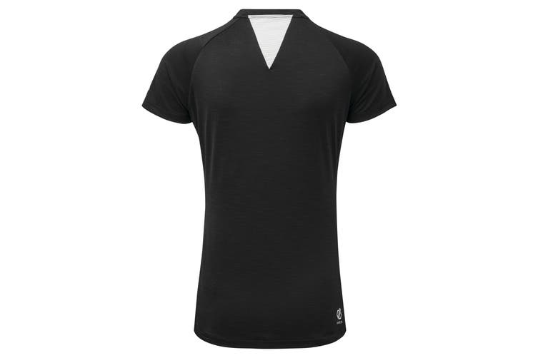 Dare 2B Womens/Ladies Outdare Half Zip Cycling Jersey (Black) (14 UK)