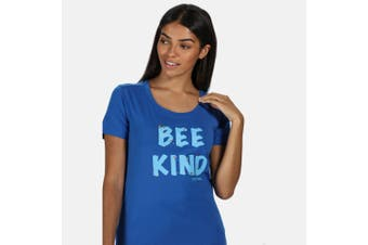 Regatta Womens/Ladies Filandra IV Graphic T-Shirt (Strong Blue) (12 UK)