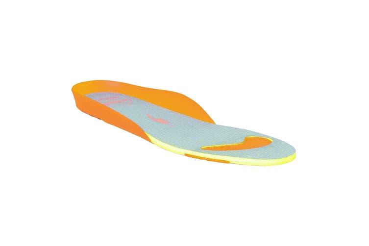 Regatta Great Outdoors Mens Comfort Footbed Insert (Grey/Orange) (UK 9)