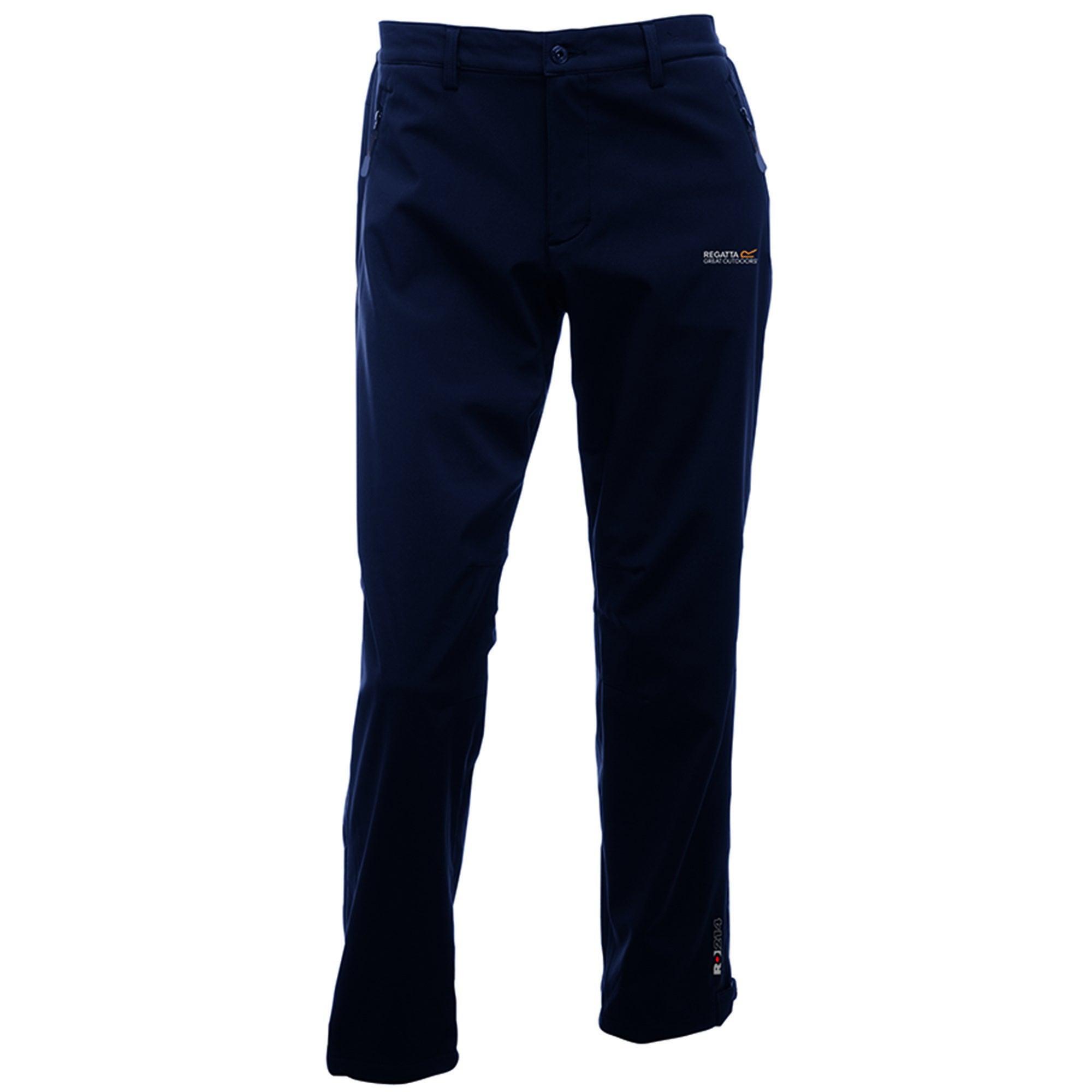 Regatta Great Outdoors Mens Adventure Tech Geo II Regular Leg Softshell Trousers