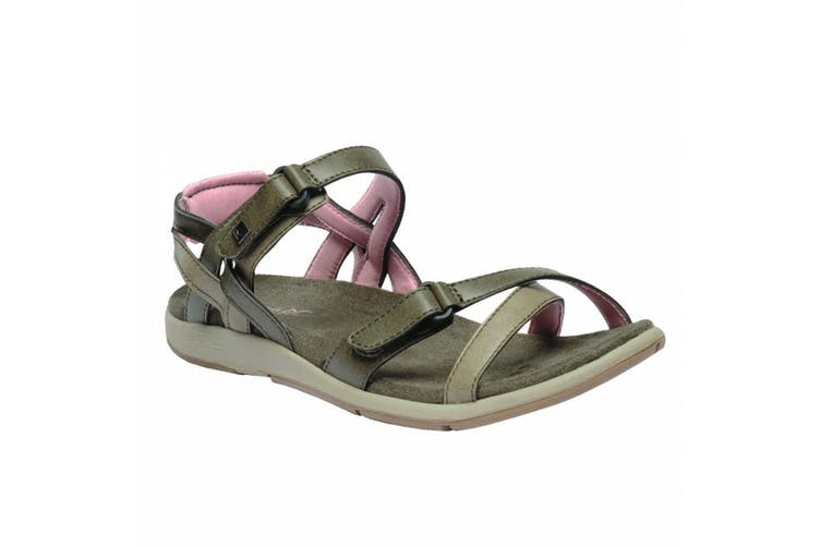 Regatta Great Outdoors Womens/Ladies Lady Santa Cruz Open Toe Sandals (Walnut/Mellow) (UK 3)