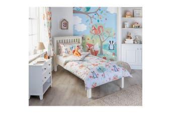 Riva Home Woodland Childrens/Kids Duvet Set (Multicoloured) (Double)