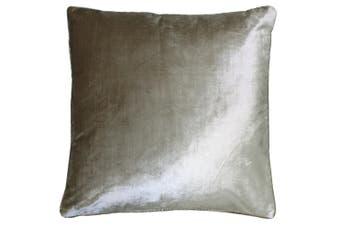 Riva Home Luxe Velvet Cushion Cover (Gilt) (55 x 55cm)