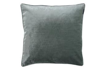 Riva Home Luxe Velvet Cushion Cover (Mineral) (55 x 55cm)