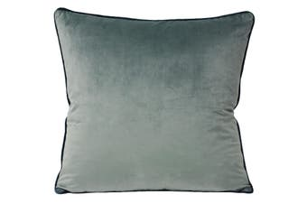 Riva Home Meridian Cushion Cover (Mineral/Teal) (55 x 55cm)