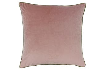 Riva Home Meridian Cushion Cover (Blush/Gold) (55 x 55cm)