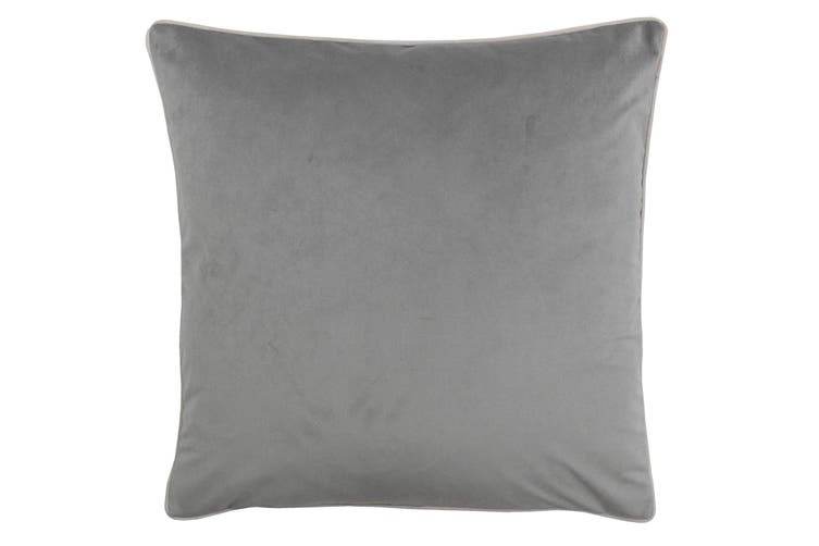 Riva Home Meridian Cushion Cover (Grey/Blush) (55 x 55cm)