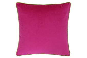 Riva Home Meridian Cushion Cover (Hot Pink/Lime) (55 x 55cm)
