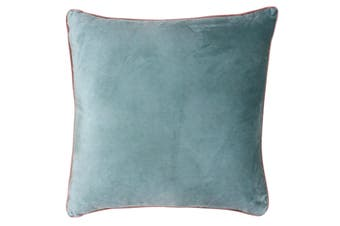 Riva Home Meridian Cushion Cover (Mineral/Blush) (55 x 55cm)