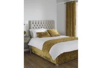 Riva Home Verona Bed Wrap (Ochre) - UTRV1098