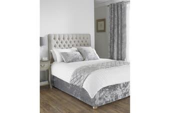 Riva Home Verona Bed Wrap (Silver) - UTRV1098