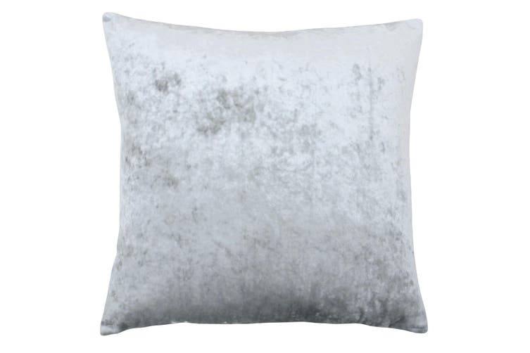 Riva Home Verona Square Cushion Cover (Silver) (55x55cm)