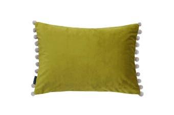 Paoletti Fiesta Rectangle Cushion Cover (Bamboo/Natural) (35 x 50cm)