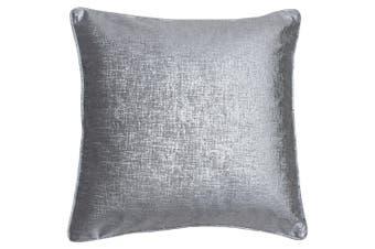 Riva Home Venus Square Cushion Cover (Silver) (45 x 45cm)