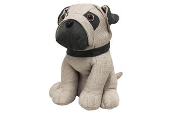 Riva Home Pug Doorstop (Multicoloured) (One Size)