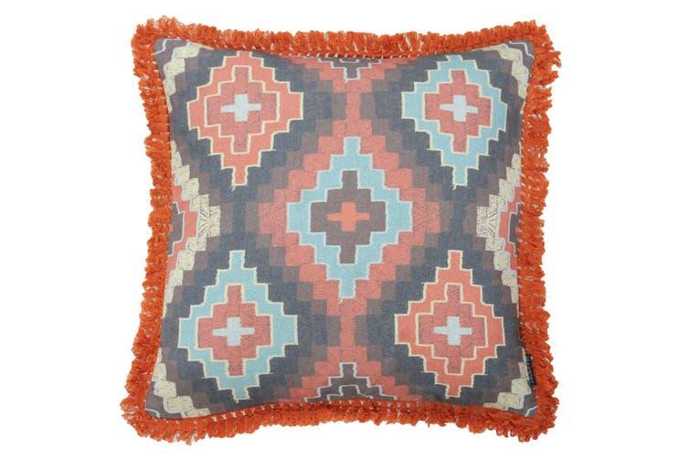 Riva Home Marni Cushion Cover (Orange) (50 x 50cm)