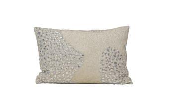 Riva Home Nador Cushion Cover (Natural) (35 x 50cm)