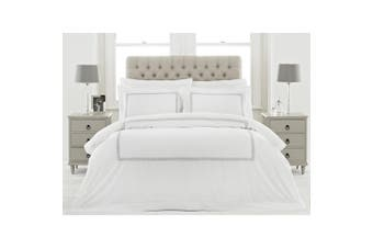 Riva Home Cleopatra Duvet Set (Silver) (King)