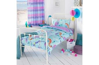 Riva Home Girls Mermaid Duvet Cover Set (Multicolour) - UTRV1216