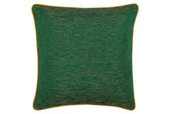 Riva Paoletti Putney Cushion Cover (Emerald/Gold) (45x45cm)