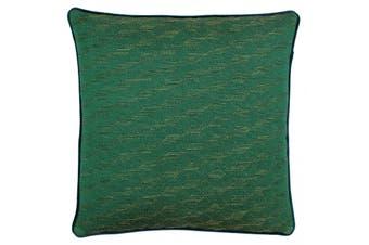Riva Paoletti Chiswick Cushion Cover (Magenta/Emerald) (50x50cm)