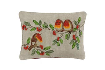 Riva Paoletti Artisan Robin Cushion Cover (Multicolour) (35x50cm)