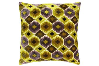 Riva Paoletti Ares Cushion Cover (Citrine Yellow) (55 x 55cm)