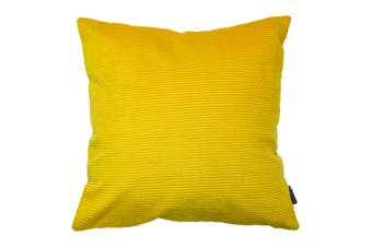 Riva Home Munich Reversible Corduroy Cushion Cover (Ceylon Yellow) (One Size)