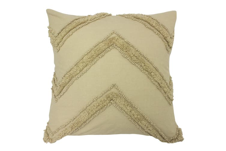 The Linen Yard Nammos Reversible Cushion Cover (Natural) (One Size)