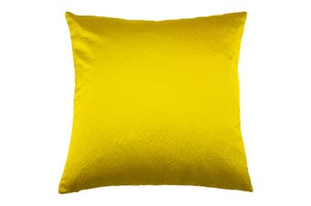 Riva Home Palermo Cushion Cover With Metallic Sheen Design (Limon Yellow) (One Size)