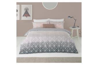 Furn Spectrum Ombre Duvet Cover Set (Grey/Pink) - UTRV1606