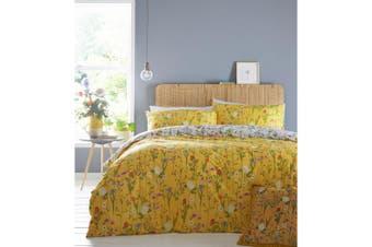 Furn Fleura Duvet Cover Set (Yellow) - UTRV1614