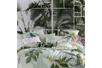 Linen House Glasshouse Pillowcase Set (Pack of 2) (Multicoloured) (One Size)
