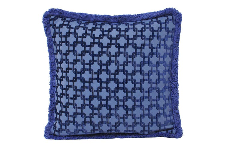 Riva Home Belmont Cushion Cover (Navy) (55x55cm)