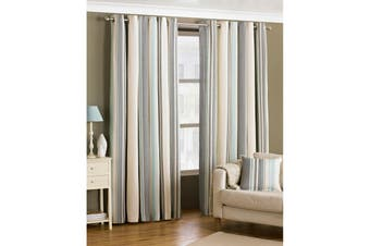 Riva Home Broadway Ringtop Curtains (Duck Egg) - UTRV221