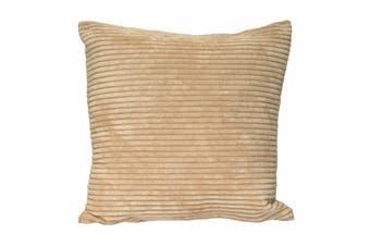 Riva Home Corduroy Cushion Cover (Natural) (45x45cm)