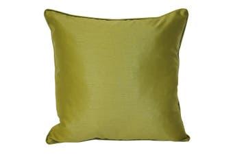 Riva Home Fiji Faux Silk Cushion Cover (Green) (One Size)