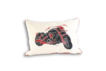 Riva Home Harley Cushion Cover (Red) (35x50cm)