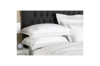 Riva Home Harvard Pillowcase (Grey) (Oxford (Singles))