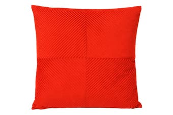 Riva Home Infinity Cushion Cover (Red) (45x45cm)