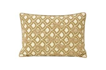 Riva Home Ionia Fish Cushion Cover (Driftwood) (35x50cm)